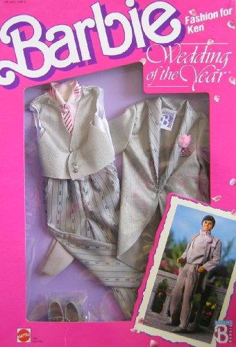 バービー バービー人形 着せ替え 衣装 ドレス 3789, Asst. 3793 Barbie KEN Fashions WEDDING OF THE YEAR Groom TUXEDO Outfit & Accessories (1989 Mattel Hawthorne)バービー バービー人形 着せ替え 衣装 ドレス 3789, Asst. 3793