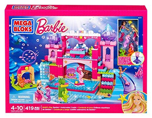 メガブロック バービー 組み立て 知育玩具 DBM21 Mega Bloks Barbie's Underwater Castleメガブロック バービー 組み立て 知育玩具 DBM21
