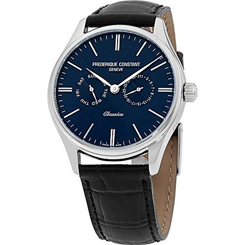 腕時計 フレデリックコンスタント メンズ FC-259BNT5B6 【送料無料】Frederique Constant Classics Quartz Movement Blue Dial Men's Watch FC-259BNT5B6腕時計 フレデリックコンスタント メンズ FC-259BNT5B6
