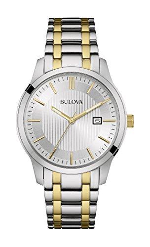 ブローバ 腕時計 メンズ 98B263 【送料無料】Bulova Men's Stainless Steel Two Tone Date Watchブローバ 腕時計 メンズ 98B263