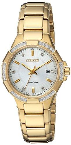 シチズン 逆輸入 海外モデル 海外限定 アメリカ直輸入 EW2462-51A 【送料無料】Citizen Women's 'Eco-Drive' Quartz Stainless Steel Casual Watch, Color:Gold-Toned (Model: EW2462-51A)シチズン 逆輸入 海外モデル 海外限定 アメリカ直輸入 EW2462-51A