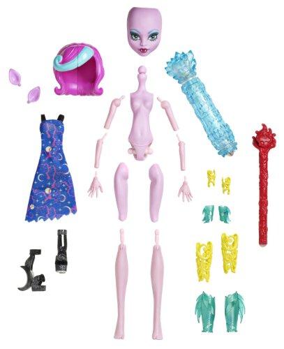 モンスターハイ 人形 ドール Y7726 【送料無料】Monster High Create-A-Monster Color-Me-Creepy Werewolf Starter Packモンスターハイ 人形 ドール Y7726