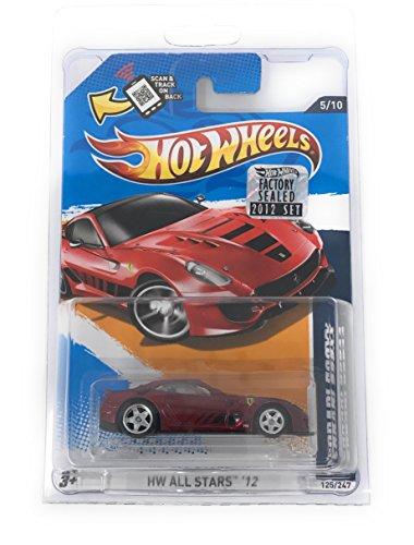 ホットウィール マテル ミニカー ホットウイール 【送料無料】Hot Wheels 2012 Super Treasure Hunt Ferrari 599XX Secret T-Hunt Diecast Vehicleホットウィール マテル ミニカー ホットウイール