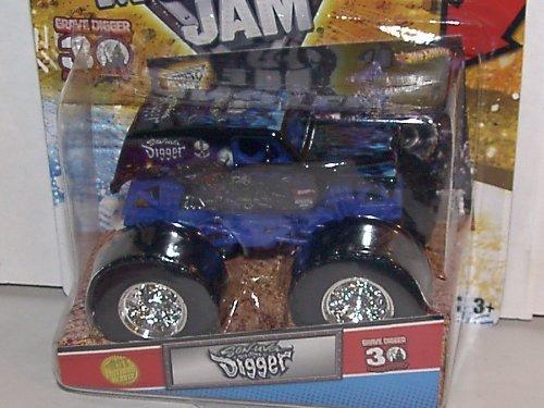 ホットウィール マテル ミニカー ホットウイール Hot Wheels 2012 1:64 Scale Son UVA Digger 2012 1ST Editions Monster JAM Truck 30TH Anniversary Grave Digger Series with Topps Trading Cardホットウィール マテル ミニカー ホットウイール