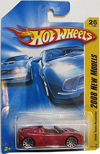 ホットウィール マテル ミニカー ホットウイール Hot Wheels 2008-026 New Models Tesla RED 1:64 Scaleホットウィール マテル ミニカー ホットウイール