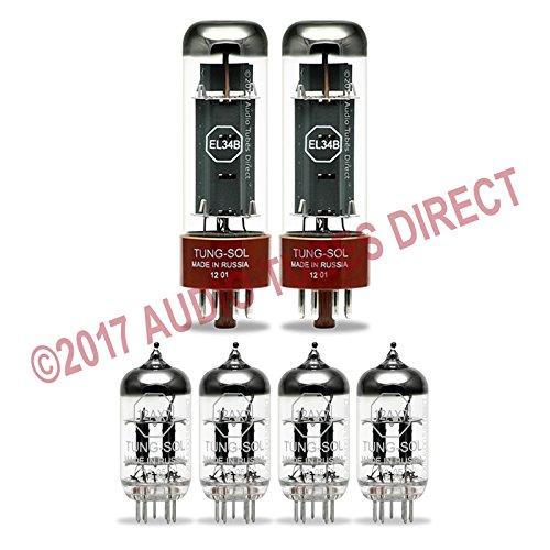 真空管 ギター・ベース アンプ 海外 輸入 EL34B 12AX7 Tung-Sol Tube Upgrade Kit For Hiwatt S50 & S50LC Amps EL34B 12AX7真空管 ギター・ベース アンプ 海外 輸入 EL34B 12AX7