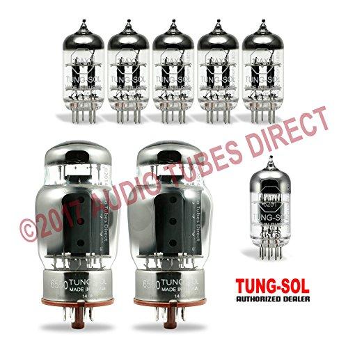 真空管 ギター・ベース アンプ 海外 輸入 6550/12AX7/12AT7 Tung-Sol Tube Upgrade Kit For Thunderfunk 50B Amps 6550 12AX7 12AT7真空管 ギター・ベース アンプ 海外 輸入 6550/12AX7/12AT7