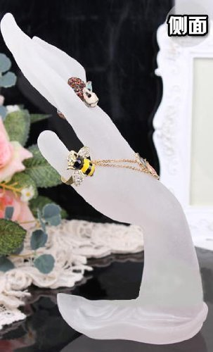 アクセサリスタンド ジュエリー AA-0077 Hand Torso ring stand ring stand jewelry stand bracelet stand frosted glass tone resin Enchantedアクセサリスタンド ジュエリー AA-0077