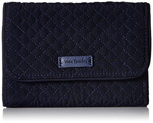 ヴェラブラッドリー ベラブラッドリー アメリカ 日本未発売 財布 22879-219 Vera Bradley Iconic RFID Riley Compact Wallet, Microfiber, Classic Navyヴェラブラッドリー ベラブラッドリー アメリカ 日本未発売 財布 22879-219