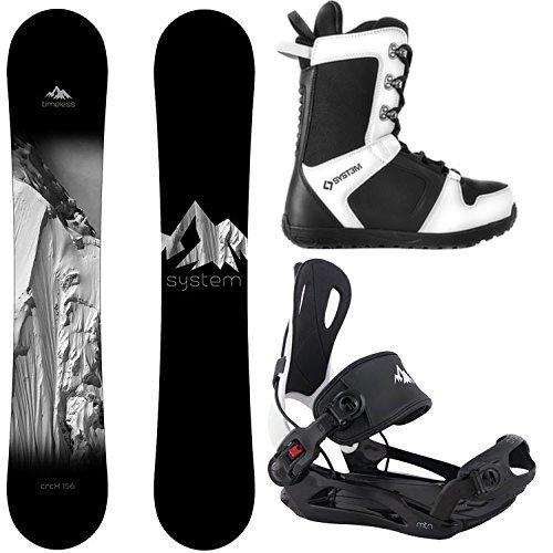 スノーボード ウィンタースポーツ システム 2017年モデル2018年モデル多数 System Package Timeless Snowboard 153 cm MTN Binding Medium APX Snowboard Boots-8 2019スノーボード ウィンタースポーツ システム 2017年モデル2018年モデル多数
