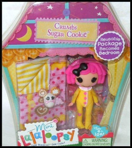 ララループシー 人形 ドール Mini Lalaloopsy Doll- mini Lara loop Sea Doll - CRUMBS SUGAR COOKIE Sleepy Series parallel import goodsララループシー 人形 ドール