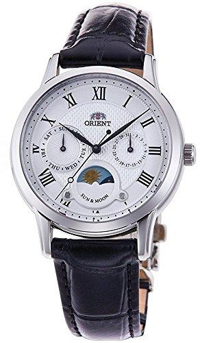 オリエント 腕時計 レディース ORIENT 'Sun & Moon' Roman Indices Leather Lady Quartz KA0006Sオリエント 腕時計 レディース