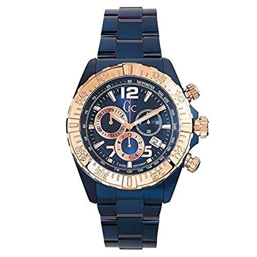 ゲス GUESS 腕時計 メンズ 【送料無料】Guess Y02008G7 Men's Sport Racer Blue Steel Bracelet Chrono Watchゲス GUESS 腕時計 メンズ