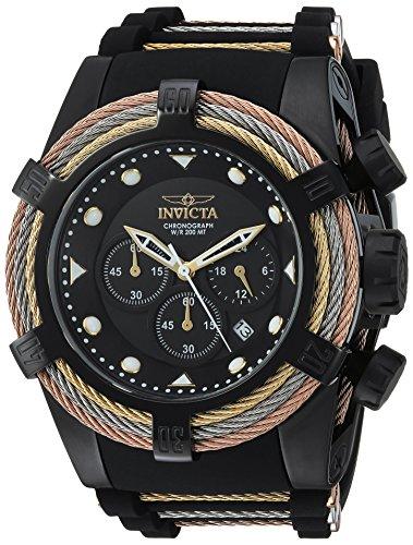 インヴィクタ インビクタ ボルト 腕時計 メンズ 23054 【送料無料】Invicta Men's Bolt Quartz Watch with Stainless-Steel Strap, Black, 28 (Model: 23054)インヴィクタ インビクタ ボルト 腕時計 メンズ 23054