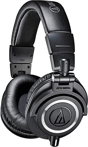 DJヘッドホン ヘッドフォン 海外 輸入 ATH-M50x Audio-Technica ATH-M50x Professional Studio Monitor Headphones, BlackDJヘッドホン ヘッドフォン 海外 輸入 ATH-M50x