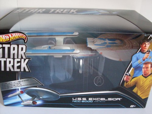 ホットウィール マテル ミニカー ホットウイール X3084 【送料無料】Hot Wheels Collector Star Trek USS Excelsior NCC 2000ホットウィール マテル ミニカー ホットウイール X3084