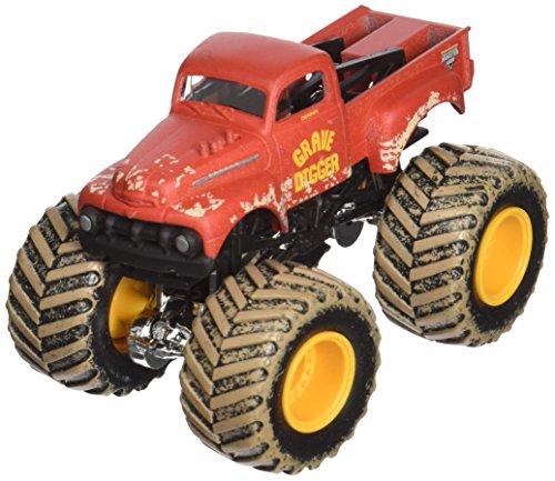 ホットウィール マテル ミニカー ホットウイール 2013 Monster Jam Grave Digger (Red 1952 Ford) (Includes Crushable Car)ホットウィール マテル ミニカー ホットウイール