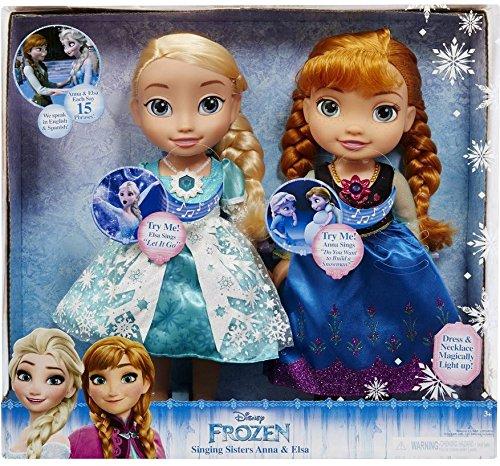 アナと雪の女王 アナ雪 ディズニープリンセス フローズン Disney Frozen Singing Sisters Anna and Elsa Talking Dollsアナと雪の女王 アナ雪 ディズニープリンセス フローズン
