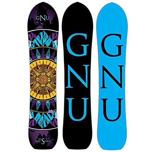 スノーボード ウィンタースポーツ グヌー 2017年モデル2018年モデル多数 【送料無料】Gnu Free Spirit C3 Womens Snowboard Blue Purple Gold 143スノーボード ウィンタースポーツ グヌー 2017年モデル2018年モデル多数