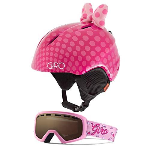 スノーボード ウィンタースポーツ 海外モデル ヨーロッパモデル アメリカモデル 【送料無料】Giro Launch Kids Snow Helmet Goggle Combo Pink Bow Polka Dots/Pink Magic Mountain スノーボード ウィンタースポーツ 海外モデル ヨーロッパモデル アメリカモデル