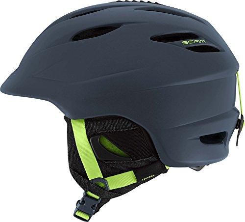 スノーボード ウィンタースポーツ 海外モデル ヨーロッパモデル アメリカモデル Giro Giro Seam Snow Helmet 2016 - Men's Matte Turbulence/Lime Smallスノーボード ウィンタースポーツ 海外モデル ヨーロッパモデル アメリカモデル Giro