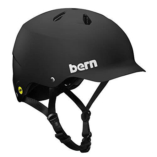 スノーボード ウィンタースポーツ 海外モデル ヨーロッパモデル アメリカモデル Bern BERN - Summer Watts EPS Helmet, MIPS Matte Black, Smallスノーボード ウィンタースポーツ 海外モデル ヨーロッパモデル アメリカモデル Bern