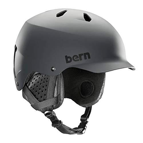 スノーボード ウィンタースポーツ 海外モデル ヨーロッパモデル アメリカモデル Bern Bern - Winter Watts EPS Snow Helmet, MIPS Matte Grey with Black Liner, Smallスノーボード ウィンタースポーツ 海外モデル ヨーロッパモデル アメリカモデル Bern