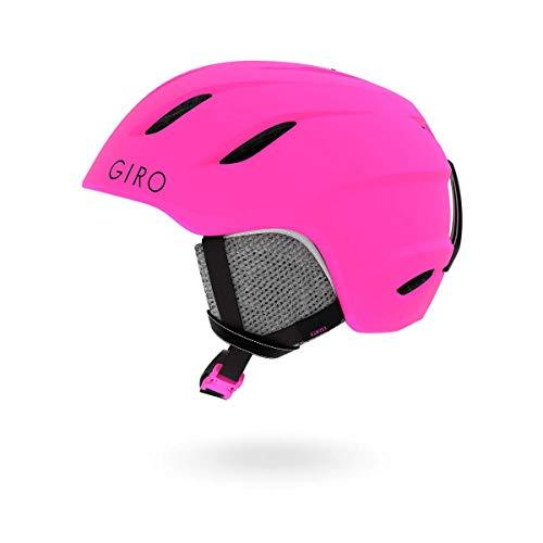 スノーボード ウィンタースポーツ 海外モデル ヨーロッパモデル アメリカモデル Giro Giro Nine Jr. Kids Snow Helmet Matte Bright Pink MD 55.5?59cmスノーボード ウィンタースポーツ 海外モデル ヨーロッパモデル アメリカモデル Giro