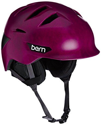 スノーボード ウィンタースポーツ 海外モデル ヨーロッパモデル アメリカモデル SW08ZSFUC11 Bern Hepburn Winter Helmet for Women - Previous Seasonスノーボード ウィンタースポーツ 海外モデル ヨーロッパモデル アメリカモデル SW08ZSFUC11
