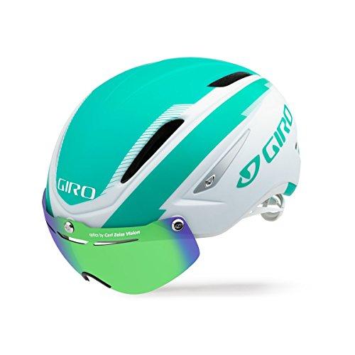 スノーボード ウィンタースポーツ 海外モデル ヨーロッパモデル アメリカモデル Giro Giro Air Attack Shield Helmet - Matte White/Turquoise - Smallスノーボード ウィンタースポーツ 海外モデル ヨーロッパモデル アメリカモデル Giro