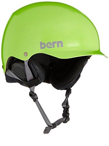 スノーボード ウィンタースポーツ 海外モデル ヨーロッパモデル アメリカモデル BERN Baker Thin Shell w EPS Foam Ski Helmet Small/Medium Satin Neon Green Black Linerスノーボード ウィンタースポーツ 海外モデル ヨーロッパモデル アメリカモデル