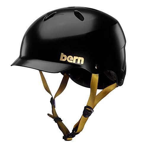 スノーボード ウィンタースポーツ 海外モデル ヨーロッパモデル アメリカモデル BERN - Summer Lenox EPS. Helmet, MIPS, Satin Black, Smallスノーボード ウィンタースポーツ 海外モデル ヨーロッパモデル アメリカモデル