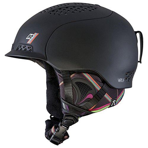 スノーボード ウィンタースポーツ 海外モデル ヨーロッパモデル アメリカモデル S1508008012 K2 Virtue Ski 2015 Helmet, Black, Smallスノーボード ウィンタースポーツ 海外モデル ヨーロッパモデル アメリカモデル S1508008012