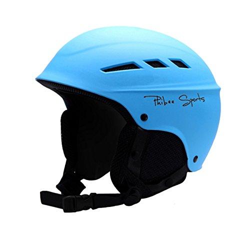 スノーボード ウィンタースポーツ 海外モデル ヨーロッパモデル アメリカモデル PHIBEE Unisex Snow Sport Lightweight EPS Outdoor Ski Helmet Blue Mスノーボード ウィンタースポーツ 海外モデル ヨーロッパモデル アメリカモデル