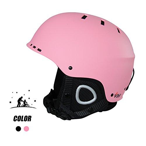 スノーボード ウィンタースポーツ 海外モデル ヨーロッパモデル アメリカモデル Vihir Snow Convertible Adult Winter 海外モデル Ski Snow Helmet 2-in-1 Convertible Sports Skateboard Helmet for Men Women, Pink, スノーボード ウィンタースポーツ 海外モデル ヨーロッパモデル アメリカモデル, 手芸の店mam:39bae47d --- sunward.msk.ru
