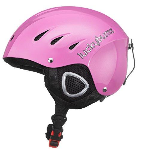 スノーボード ウィンタースポーツ 海外モデル ヨーロッパモデル アメリカモデル 123PKM 【送料無料】Lucky Bums Snow Sport Helmet (Pink, Medium)スノーボード ウィンタースポーツ 海外モデル ヨーロッパモデル アメリカモデル 123PKM