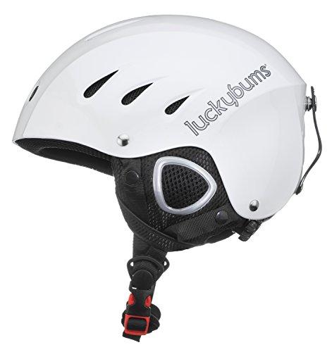 スノーボード ウィンタースポーツ 123WHL 海外モデル ヨーロッパモデル アメリカモデル 123WHL ヨーロッパモデル Lucky 123WHL Bums Snow Sport Helmet, White, Largeスノーボード ウィンタースポーツ 海外モデル ヨーロッパモデル アメリカモデル 123WHL, JR東日本商事いいものステーション:c868b6ea --- sunward.msk.ru