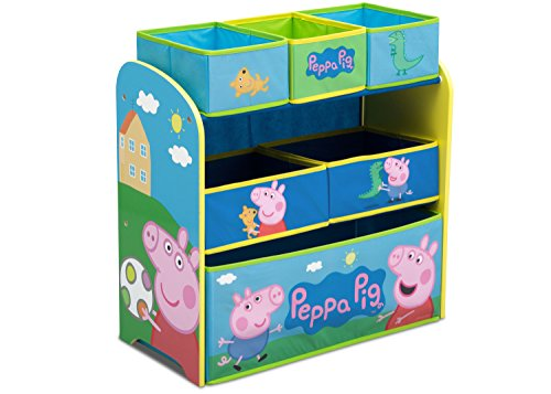 スポンジボブ カートゥーンネットワーク Spongebob キャラクター アメリカ限定多数 TB83412PG Delta Children Multi-Bin Toy Organizer, Peppa Pigスポンジボブ カートゥーンネットワーク Spongebob キャラクター アメリカ限定多数 TB83412PG