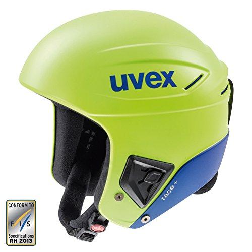 スノーボード ウィンタースポーツ 海外モデル ヨーロッパモデル アメリカモデル 5661726404 Uvex Race + Helmet - Small/Lime-Cobalt Matteスノーボード ウィンタースポーツ 海外モデル ヨーロッパモデル アメリカモデル 5661726404