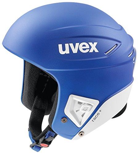 スノーボード ウィンタースポーツ 海外モデル ヨーロッパモデル アメリカモデル 5661724202 【送料無料】Uvex Race + Helmet - XX-Small/Cobalt-White Matteスノーボード ウィンタースポーツ 海外モデル ヨーロッパモデル アメリカモデル 5661724202