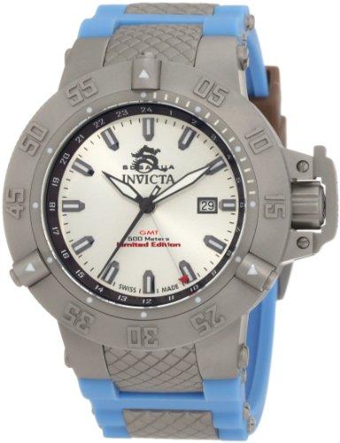インヴィクタ インビクタ サブアクア 腕時計 メンズ 1590 【送料無料】Invicta Men's 1590 Subaqua Noma III Silver Dial Blue Silicone Watchインヴィクタ インビクタ サブアクア 腕時計 メンズ 1590