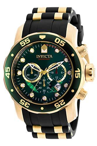 インヴィクタ インビクタ プロダイバー 腕時計 メンズ 6984 【送料無料】Invicta Men's 6984 Pro Diver Collection Chronograph Green Dial Black Polyurethane Watchインヴィクタ インビクタ プロダイバー 腕時計 メンズ 6984
