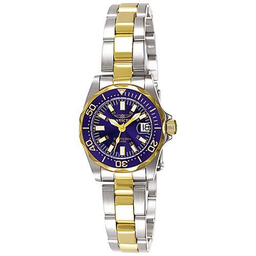 インヴィクタ インビクタ プロダイバー 腕時計 レディース INVICTA-7064 【送料無料】Invicta Women's 7064 Signature Collection Pro Diver Two-Tone Watchインヴィクタ インビクタ プロダイバー 腕時計 レディース INVICTA-7064
