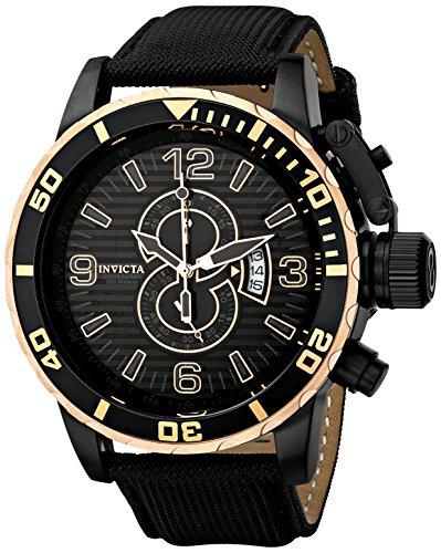 インヴィクタ インビクタ 腕時計 メンズ 12622 Invicta Men's 12622 Corduba Chronograph Black Dial Black Nylon Watchインヴィクタ インビクタ 腕時計 メンズ 12622