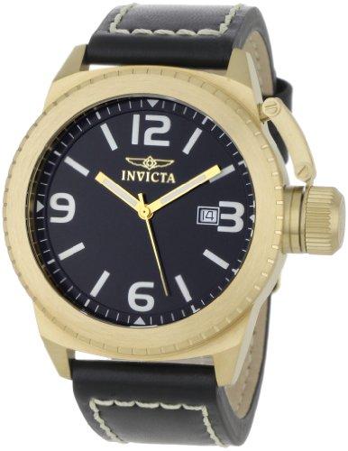 インヴィクタ インビクタ 腕時計 メンズ 1111 【送料無料】Invicta Men's 1111 Corduba Collection Black Dial Black Leather Watchインヴィクタ インビクタ 腕時計 メンズ 1111
