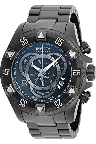 インヴィクタ インビクタ リザーブ 腕時計 メンズ 6474 Invicta Men's 6474 Reserve Collection Excursion Chronograph Black Ion-Plated Watchインヴィクタ インビクタ リザーブ 腕時計 メンズ 6474