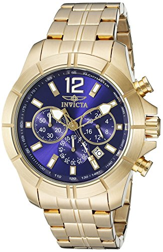 インヴィクタ インビクタ 腕時計 メンズ 21465 Invicta Men's 21465 Specialty Analog Display Quartz Gold Plated Watchインヴィクタ インビクタ 腕時計 メンズ 21465