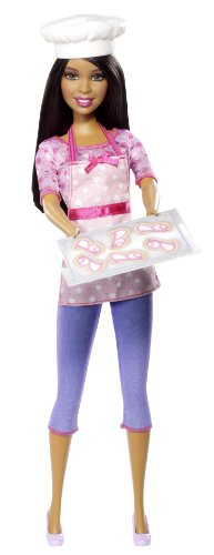 無料ラッピングでプレゼントや贈り物にも 逆輸入並行輸入送料込 バービー バービー人形 バービーキャリア バービーアイキャンビー 職業 BDT41 送料無料 Dollバービー 実物 Barbie Chef Careers Fashion 人気ブランド多数対象 Cookie African-American