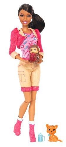 バービー バービー人形 バービーキャリア バービーアイキャンビー 職業 X9080 【送料無料】Barbie I Can Be Zoo Keeper Doll, Brunetteバービー バービー人形 バービーキャリア バービーアイキャンビー 職業 X9080