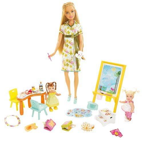バービー バービー人形 バービーキャリア バービーアイキャンビー 職業 L1474 Barbie I Can Be... Art Teacher Playsetバービー バービー人形 バービーキャリア バービーアイキャンビー 職業 L1474